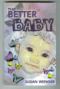 The Better Baby book, cover design